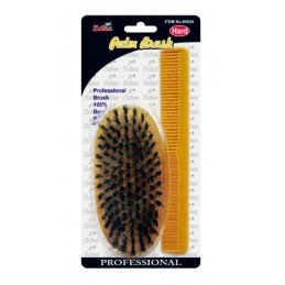 EDEN HARD PALM BRUSH & COMB...