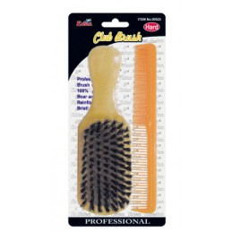 EDEN HARD CLUB BRUSH & COMB...